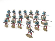 Comet Toy Soldiers FR662 French Foreign Legion Charging with Officer