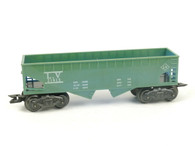 Louis Marx Trains 21913 LV 8 Wheel Hopper Black O/O27 Gauge