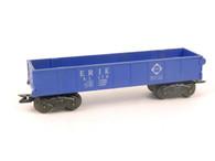Marx Trains 51170 Erie 8 Wheel Blue Gondola O/O27 Gauge