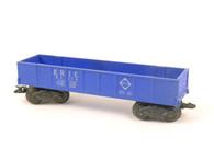Marx Trains 347100 Pennsylvania Deluxe 8 Wheel Gondola Silver O/O27 Gauge