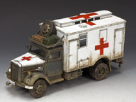 King & Country WS258 Opel Blitz German Field Ambulance