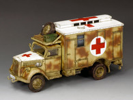 King & Country WH004 Opel Blitz German Field Ambulance Camouflage
