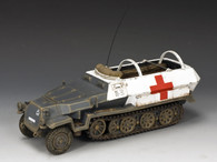 King & Country WH005 SD.KFZ251 Armoured  Ambulance World War II