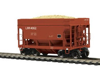 MTH Model Trains HO 80-97026 Long Island 70 Ton Center Discharge High Extension Ore Car