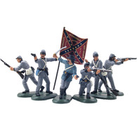 WBritain Plastic Toy Set Soldiers Confederate Infantry Set No 352014