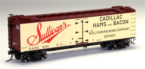 MTH Model Trains HO Scale Set SKU# 80-94048 R40-2 Wood Sided Refrigerator Car