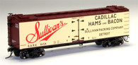 MTH Model Trains HO Scale Set 80-94050 R40-2 Wood Sided Refrigerator Car