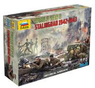 ZVEZDA 6260 Historical Wargames World War II Stalingrad 1942-1943 Set