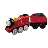 Learning Curve Thomas & Friends Wooden Railway Battery Powered James LC99718 Real Wood Age 3+