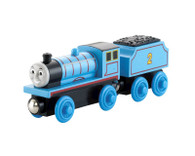 Fisher Price Thomas & Friends Wooden Railway Edward the No 2 Engine Tender Y4071 Real Wood Age 2+