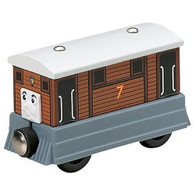 Fisher Price Thomas & Friends Wooden Railway Model train Toby The Tram Engine Y4081