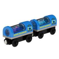 Thomas & Friends Wooden Railway Model train Aquarium Cars Y5024 Real Wood Age 2+