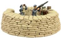 WBritain Toy Set Soldiers RAF Lewis Gunner 25026