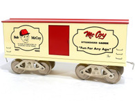 McCoy Standard Gauge Trains, Model Train Set, Bob McCoy Memorial Boxcar
