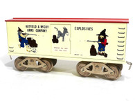 Hatfield & McCoy Standard Gauge Trains Model Arms Company Boxcar