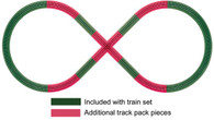 Lionel  6-12030 FasTrack Figure 8 Add-on Track Pack O Gauge