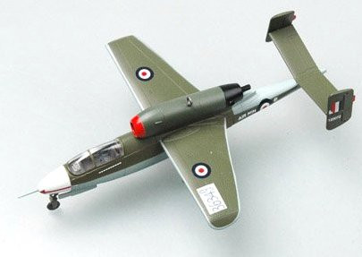 Easy Model German He162 36349 Jet Fighter 1:72 Scale Assembled Model