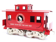 McCoy Standard Gauge Trains Great Northern Railway Caboose Item 260