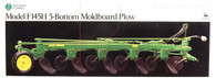 F145H 5-Bottom Moldboard Plow 5763 Precision Series Ertl Collectibles 1/16 Scale