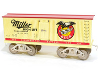 McCoy Standard Gauge Trains Miller High Life Plug Door Reefer No 285