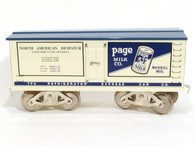 McCoy Standard Gauge Trains Page Milk Co North American Dispatch Plug Door Reefer Item No 287
