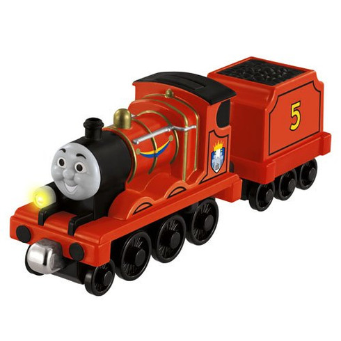Fisher-Price Thomas The Train Take-N-Play Talking James Train With Castle Crest