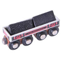 BigJigs Wooden Railway Big Coal Wagon BJT408