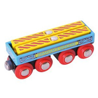 BigJigs Wooden Railway Graham's Girders Wagon BJT409
