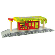 BigJigs Wooden Railway Village Station BJT190