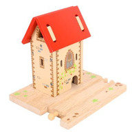 BigJigs Wooden Railway Bell Tower BJT222