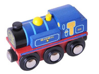 BigJigs Wooden Railway Heritage Collection Bluebell Locomotive BJT423