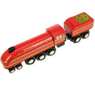 BigJigs Wooden Railway Heritage Collection Duchess Of Hamilton Train Engine BJT441