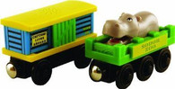 Thomas & Friends Wooden Railway Sodor Zoo Cars LC98017