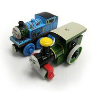 Thomas & Friends Wooden Railway Muddy Thomas & George