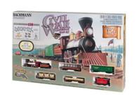 Bachmann American Civil War Confederate Army Train Set Toy 00709 HO Scale