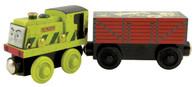 Thomas & Friends Wooden Railway Scruff Engine & The Garbage Car