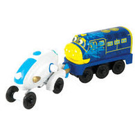 Chuggington Wooden Railway Brewster And His Booster