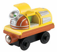 Chuggington Wooden Railway Action Chugger Mobile Command Car