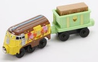 Chuggington Wooden Railway Tootsi Fruitsi Frostini With Musical Ice Cream Cargo Car