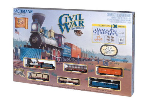 Bachmann HO Scale Toy Train Set 00708 American Civil War Union Army