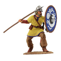W Britain Soldier 62104 Viking Shield Wall Defender No. 1