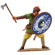 W Britain Soldier 62105 Viking Shield Wall Defender No. 2