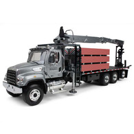 First Gear Diecast Collectible Freightliner Work Smart M2-114SD Fassi Boom Material Handler With Drywall Load 1/34 Scale