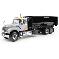 First Gear Diecast Collectible Mack Granite With Tub-Style Roll-Off Container 1/34 Scale