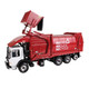 First Gear Diecast Collectible Mac TerraPro With Heil Half/Pack Freedom Front End Loader With CNG Tailgate Including Bin 1/34 Scale