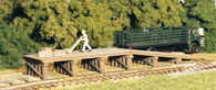 Monroe Models HO Scale Railroad Loading Ramp Model Railroad Kit