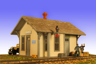 Monroe Models HO Scale Hickson Depot Model Railroad Kit