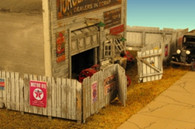 Monroe Models HO Scale Junk Yard Fence