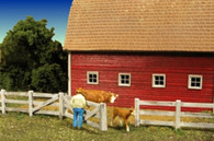 Monroe Models HO Scale Barn Yard Fence