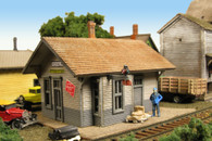 Monroe Models N Scale Hickson Depot Model Railroad Kit